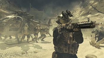 Call of Duty Modern Warfare 2 rent server