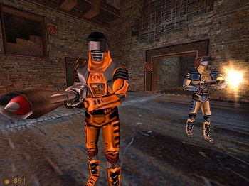 Half Life Deathmatch Classic server rental