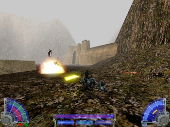 Star Wars Jedi Knight rent server