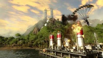 Just Cause 2 rent server